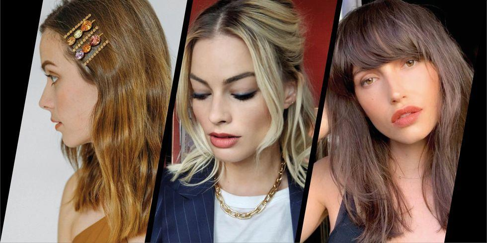 <p>Whether you want to take your long locks shoulder-length, or have grown out a bob into a mid-length cut, half-way hair has a spring-fresh feel to it. And the cut can be versatile; here's how to add interest to yours with accessories, a fringe, or simple style tweaks as seen below.</p>