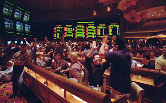 Sports wagering is currently legal in Nevada and, in limited ways, three other states. (AP)