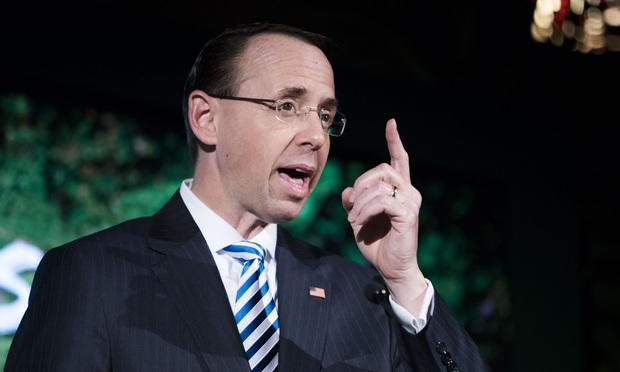 Trump Asked Deputy Attorney General Rod Rosenstein If He's on His 'Team': Report