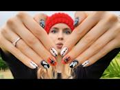 """<p>This video tutorial takes you through the process of painting fun, traditional Halloween nails with ghosts, spiders, and polka dots. Keep watching for spookier and harder designs.</p><p><a class=""""link rapid-noclick-resp"""" href=""""https://www.amazon.com/Eternal-Glorious-Collection-Lasting-Halloween/dp/B07R5C7Z6G/?tag=syn-yahoo-20&ascsubtag=%5Bartid%7C10050.g.33512580%5Bsrc%7Cyahoo-us"""" rel=""""nofollow noopener"""" target=""""_blank"""" data-ylk=""""slk:SHOP BLACK AND ORANGE NAIL POLISH"""">SHOP BLACK AND ORANGE NAIL POLISH</a></p><p><a href=""""https://www.youtube.com/watch?v=wCppR7FqE10"""" rel=""""nofollow noopener"""" target=""""_blank"""" data-ylk=""""slk:See the original post on Youtube"""" class=""""link rapid-noclick-resp"""">See the original post on Youtube</a></p>"""