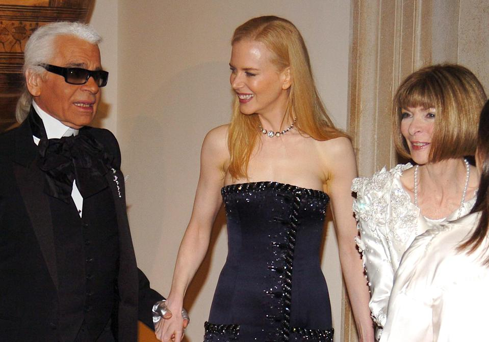 <p><strong>The theme: </strong>The House of Chanel </p> <p><strong>The co-chairs: </strong>Karl Lagerfeld, Nicole Kidman (again!) and Anna Wintour</p> <p><strong>Honorary chair:</strong> Caroline, Princess of Hanover</p>
