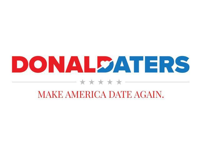 A new dating app that supporters of President Trump can use to try to hook up with each other. (Photo: Donald Daters)