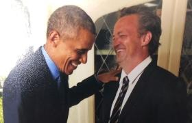 Matthew Perry confesses his man-crush over Barack Obama in new Instagram post