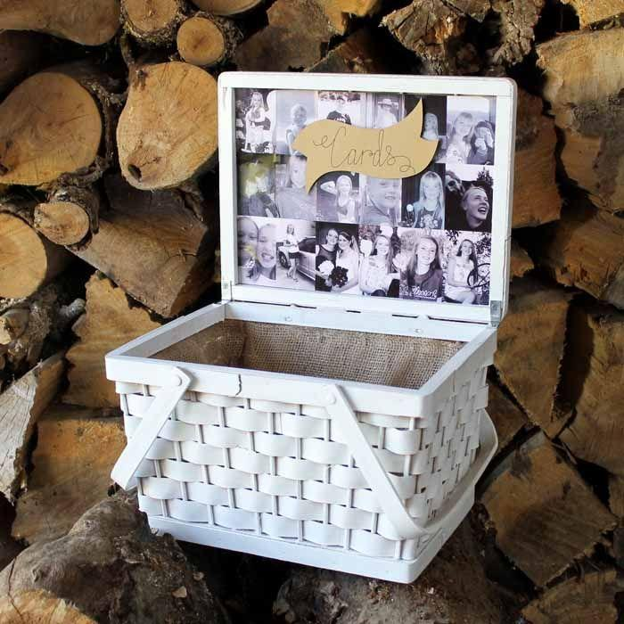 "<p>There's no doubt that your party guests will all come with cards in hand, so you'll need a place to keep track of them. Make it easy with this cute DIY card box displaying childhood photos.</p><p><strong>Get the tutorial at <a href=""https://www.thecountrychiccottage.net/graduation-card-box/"" rel=""nofollow noopener"" target=""_blank"" data-ylk=""slk:Angie Holden/The Country Chic Cottage"" class=""link rapid-noclick-resp"">Angie Holden/The Country Chic Cottage</a>.</strong></p><p><a class=""link rapid-noclick-resp"" href=""https://go.redirectingat.com?id=74968X1596630&url=https%3A%2F%2Fwww.walmart.com%2Fip%2FWhite-Rust-Oleum-American-Accents-2X-Ultra-Cover-Semi-Gloss-Spray-Paint-12-oz%2F568408503&sref=https%3A%2F%2Fwww.thepioneerwoman.com%2Fhome-lifestyle%2Fentertaining%2Fg36014713%2Fgraduation-party-ideas%2F"" rel=""nofollow noopener"" target=""_blank"" data-ylk=""slk:SHOP WHITE SPRAY PAINT"">SHOP WHITE SPRAY PAINT</a></p>"
