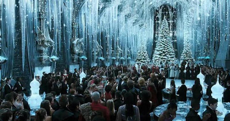 The singer appeared in the ballroom scene of Harry Potter and the Goblet of Fire (Copyright: Warner Bros)