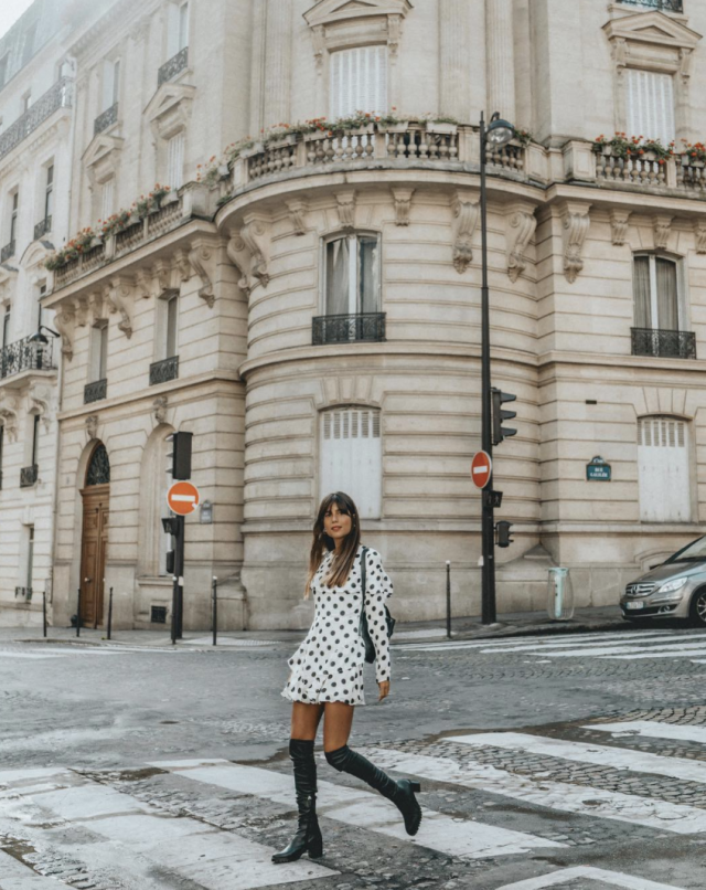 <p>If this doesn't make you want to buy a polka dot dress, we don't know what will. <em>[Photo:belenhostalet/ Instagram]</em> </p>
