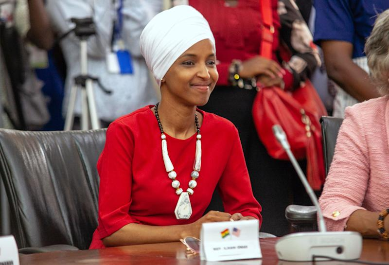 Ilhan Omar responds to Trump tweet about her, says he spreads 'lies that put my life at risk'