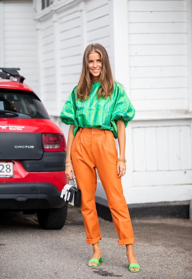 <p>Whether yours are as extreme as neon or are made up of fun pastel straps, you should have free reign to work these with everything from your brightest separates to an LBD.</p>