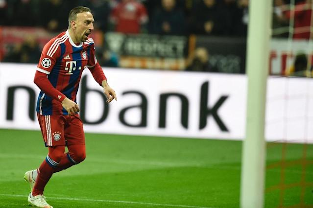 "Bayern Munich winger Franck Ribery has described the ankle injury which has kept him out of football since March as a ""catastrophe"" as his struggle for fitness continues (AFP Photo/Odd Andersen)"