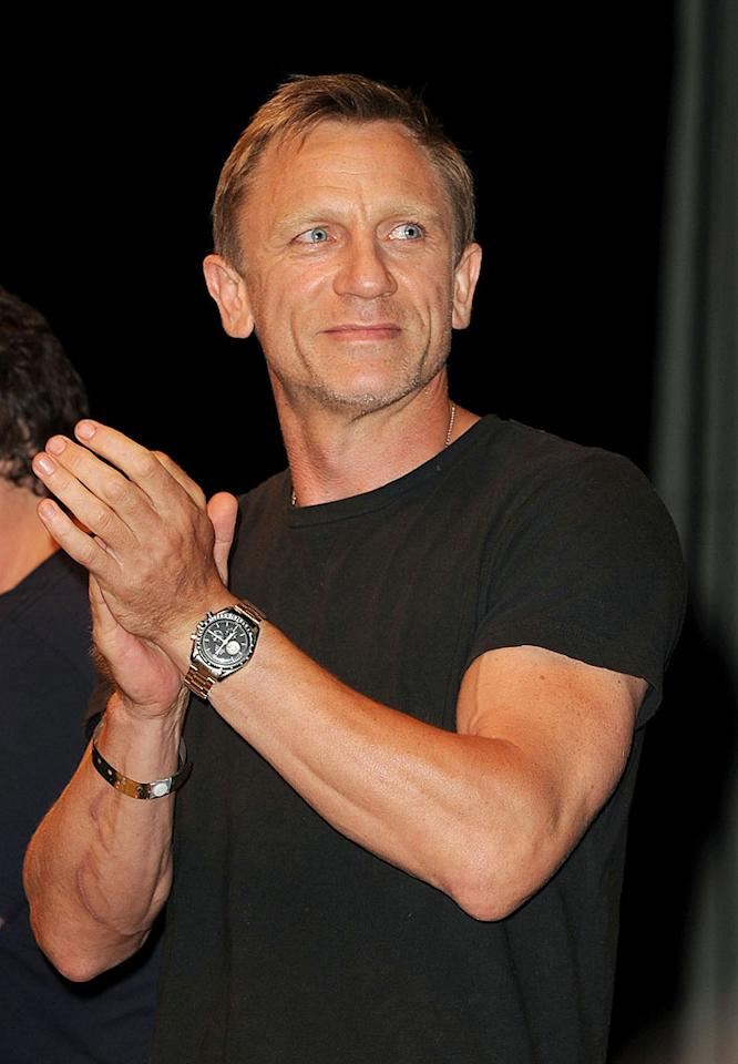 """March 2: Daniel Craig turns 43 Kevin Winter/<a href=""""http://www.gettyimages.com/"""" target=""""new"""">GettyImages.com</a> - July 24, 2010"""