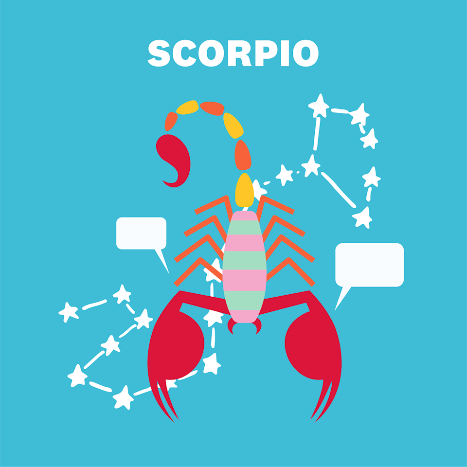 "<p>In a perfect world, you'd have a stellar work-life balance, <a href=""https://www.womenshealthmag.com/life/a29538247/scorpio-zodiac-sign-traits/"" rel=""nofollow noopener"" target=""_blank"" data-ylk=""slk:Scorpio"" class=""link rapid-noclick-resp"">Scorpio</a>. In reality, you're not ~quite~ there yet, but that's okay. The universe is sending good vibes on the 3rd to try to help you figure out how to be a happier, more balanced version of yourself. (Read: It's totally okay to log off at 5 p.m.)</p><p>Around the middle of November, you'll come up with some big ideas on how you—and everyone around you—can improve your day-to-day life. Write 'em down: This is good stuff. The Sun moves into your money house on the 21st, making you take a closer look at your finances. Here's how much you have, and here's how much you want to spend—how can you make the math work for you?</p>"