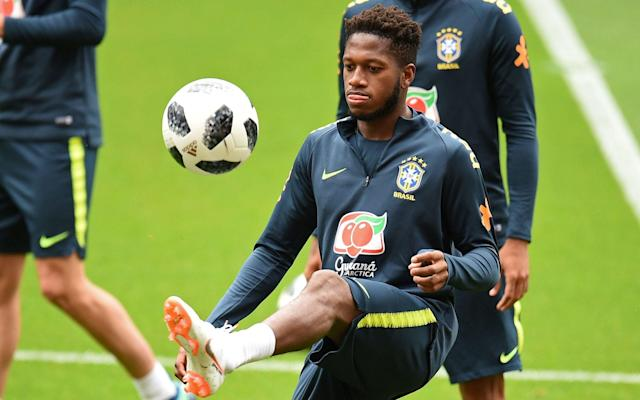 """Jose Mourinho will step up his efforts to bring in a centre-half after Manchester United announced the £52 million signing of Brazil midfielder, Fred, from Shakhtar Donetsk on Thursday. Fred, 25, who is currently on World Cup duty with Brazil, has signed a five-year contract with United that will tie him to Old Trafford until June 2023 albeit with an option to extend for a further 12 months. United agreed a deal weeks ago but the announcement was delayed while the player waited for a work permit to be granted. Fred becomes United's second signing of the summer following the £19 million arrival of Portugal Under-21 right back Diogo Dalot from Porto earlier this month and Mourinho will now focus his efforts on the recruitment of a centre-back, with Tottenham's Toby Alderweireld among the targets. Mourinho is also waiting for clarification over the future of Belgium midfielder, Marouane Fellaini, who is out of contract at the end of this month, as he waits to discover if he will need to recruit an imposing attacking midfielder. Fred to Manchester United The United midfielder hopes Fred will bring some more dynamism to the midfield and also help liberate Paul Pogba as he bids to close the gap on champions Manchester City, who pursued the Brazilian before switching their sights to Napoli's Jorginho. """"Fred will complement our other midfielders' qualities, which we need; his creative brain and passing vision will give us another dimension to our game,"""" Mourinho said. """"I am very happy he is joining our club and I believe our players know how important he can be in our team."""" Fred's unveiling as a United player on Twitter bore similarities to the way they announced Alexis Sanchez's arrival from Arsenal in January and became the latest example of the desperate attempts by clubs to create a social media fanfare around new signings. Ladies and gentlemen: we have an announcement to make...#BemVindoFred#MUFCpic.twitter.com/XG4suufEMu— Manchester United (@ManUtd) June 21, 2018 A v"""