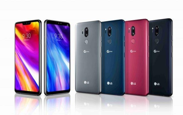 LG G7 ThinQ announced with AI features and notch design