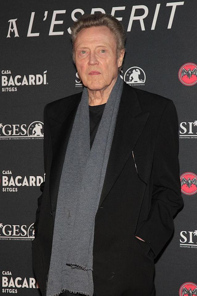 Christopher Walken in 2016. (Photo: Miquel Benitez/WireImage)