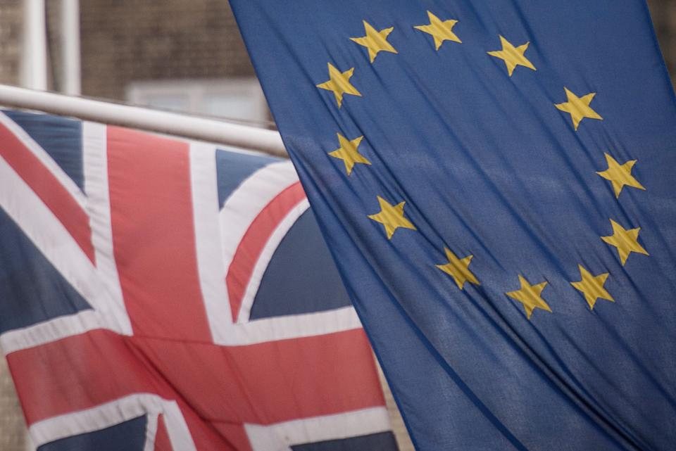 File photo dated 17/02/16 of the EU and Union flags. A number of new advisory groups have been set up to support the UK's post-Brexit trade talks, it has been announced.