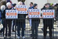The key sticking point is the deal's so-called backstop solution, which proposes some kind of customs union to prevent a hard border between the British province of Northern Ireland and the Republic of Ireland