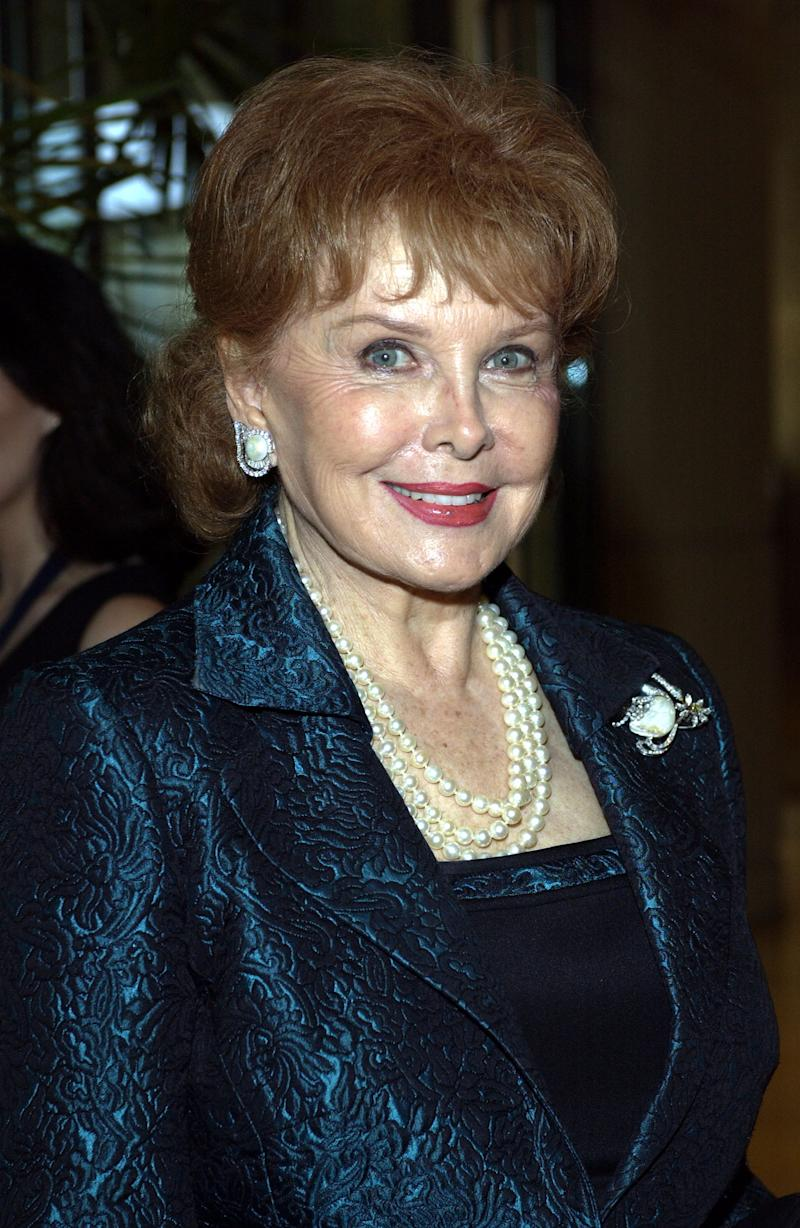 Rhonda Fleming arrives at the 2003 Society of Singers ELLA Awards