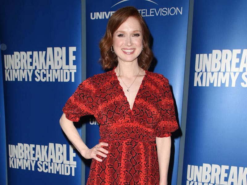 Ellie Kemper is a new mum