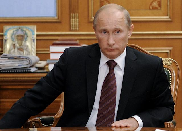 Vladimir Putin, then Russia's prime minister, in September 2011, around the time he announced he would stand for president in 2012. (Photo: Yana Lapikova/AFP/Getty Images)