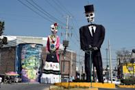 With its bright colors and cartoonish skeleton costumes, the Day of the Dead festival has become an internationally recognized symbol of Mexican culture