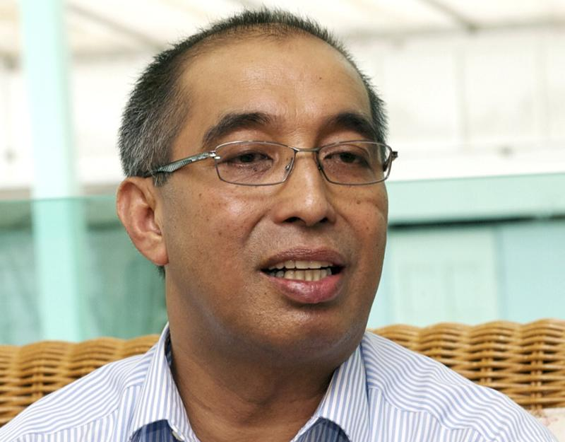 former communications and multimedia minister Datuk Seri Md Salleh Said Keruak has reportedly denied the rumour that he will be quitting Usno. — Bernama pic