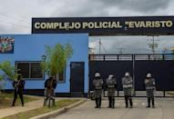 Several high-profile opponents of President Daniel Ortega are being held in Nicaragua's notorious El Chipote prison (AFP/STR)
