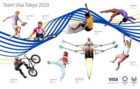 Visa Introduces Team Visa Roster Ahead of the Olympic and Paralympic Games Tokyo 2020