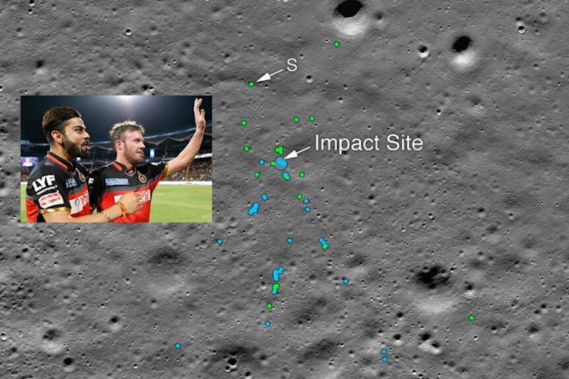 IPL Fans Troll RCB for Asking NASA to Help Find Balls Hit By Kohli and ABD
