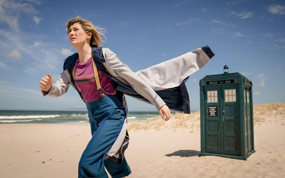 Jodie Whittaker in Doctor Who - BBC