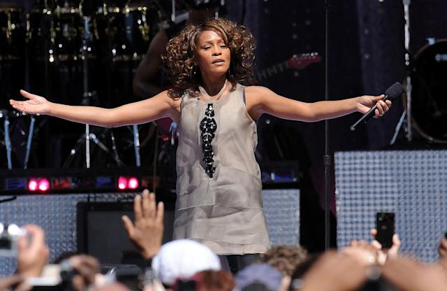 Whitney Houston performs on <em>Good Morning America</em> in 2009. (Photo: Kristin Callahan/Everett Collection)