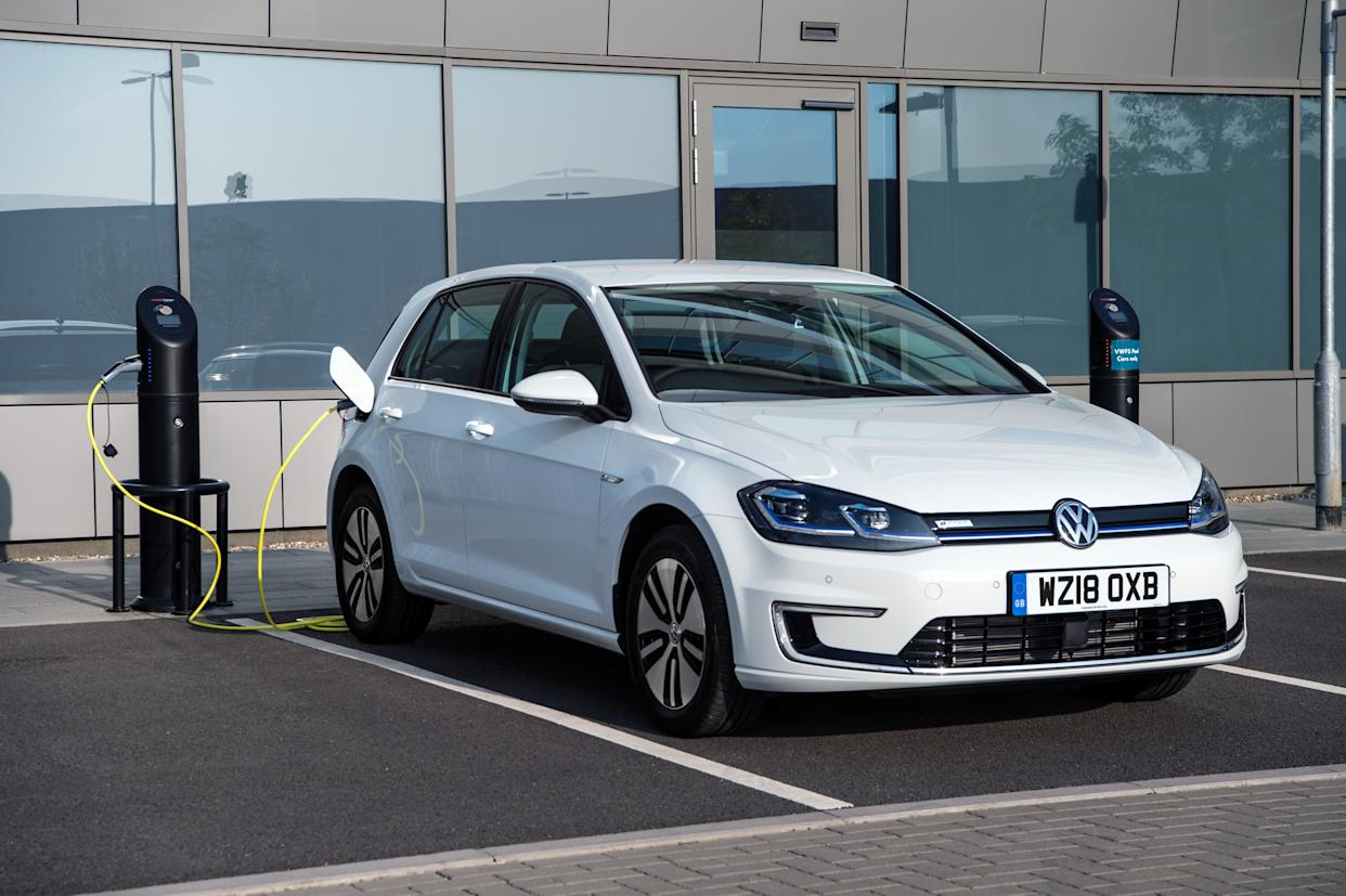 The e-Golf provides practicality as well as zero-emissions driving