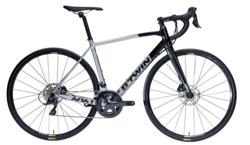 Van Rysel ultra 500 road bike - Sora disc, S$1,150. PHOTO: Decathlon