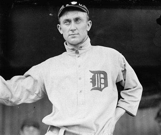 Cobb is said to have set at least 90 baseball records (Library of Congress)