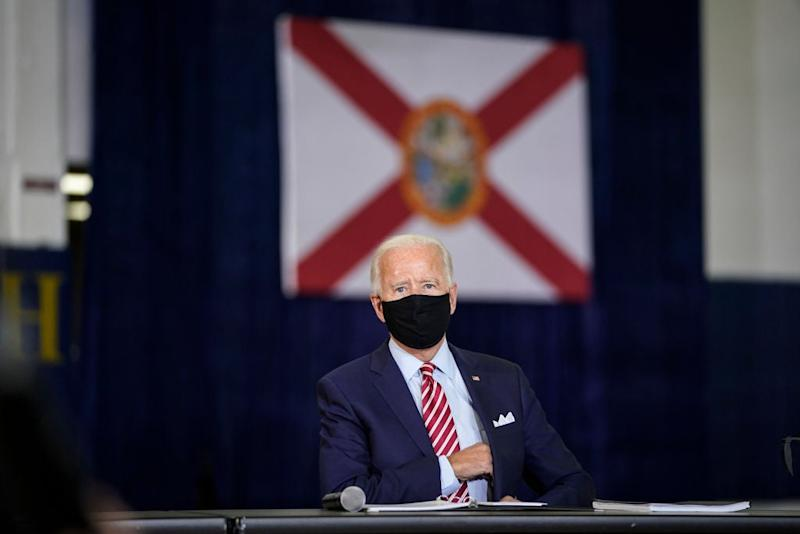 Hundreds of ex-national security officials, including some who served in the Trump administration, have endorsed Joe Biden for president. (Getty Images)