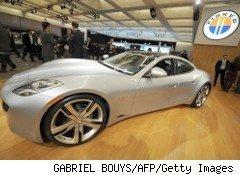 Fisker Automotive, developer of this electric sports car, called Karma, was one of the largest cleantech fundraisers in the first quarter of 2009.