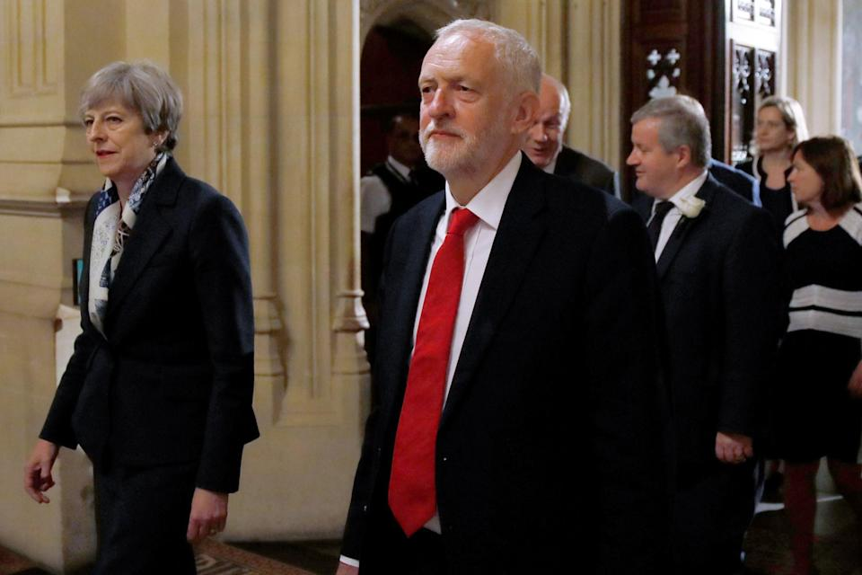 Jeremy Corbyn called the Queen's Speech 'threadbare' (Getty Images)