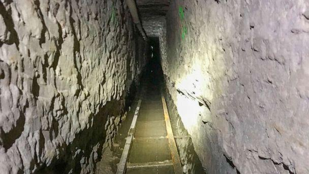PHOTO: Handout photo shows the longest illicit cross-border tunnel ever discovered along the Southwest border after a multi-year, inter-agency investigation by U.S. Border Patrol San Diego Sector and partners. (U.S. Customs and Border Protection)