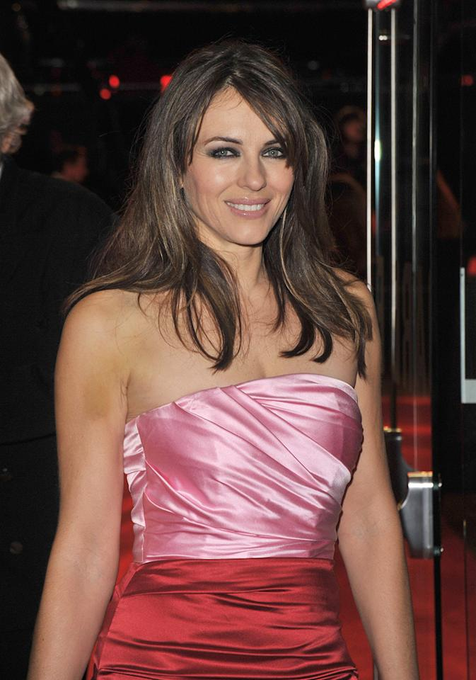 "<a href=""http://movies.yahoo.com/movie/contributor/1800018909"">Elizabeth Hurley</a> at the London premiere of <a href=""http://movies.yahoo.com/movie/1810079689/info"">Did You Hear About the Morgans?</a> - 12/08/2009"