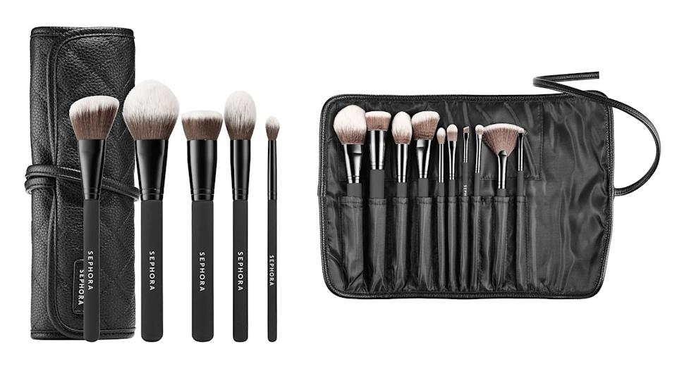 Best gifts for makeup lovers: Sephora Collection Ready to Roll Brush Set