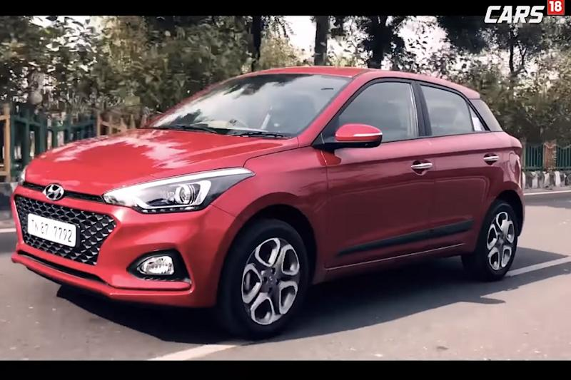 exclusive 2018 hyundai elite i20 test drive review video. Black Bedroom Furniture Sets. Home Design Ideas