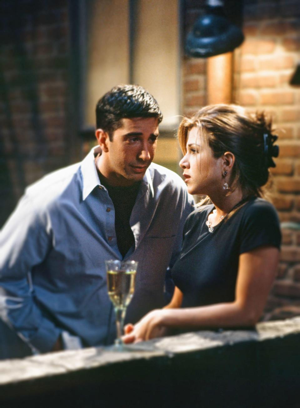 David Schwimmer's Line Flub on Friends Led to One of the Show's Most Iconic Moments