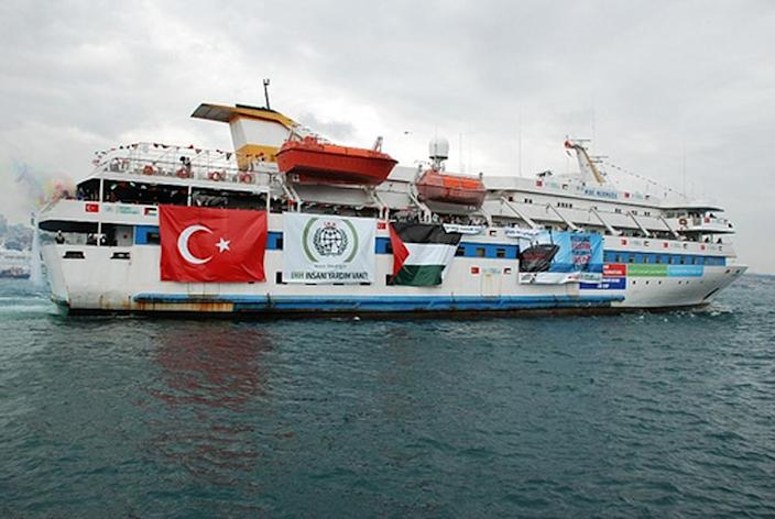 Turkey and Israel fell out over the deadly storming by Israeli commandos in 2010 of a Turkish aid ship, the Mavi Marmara (AFP Photo/)