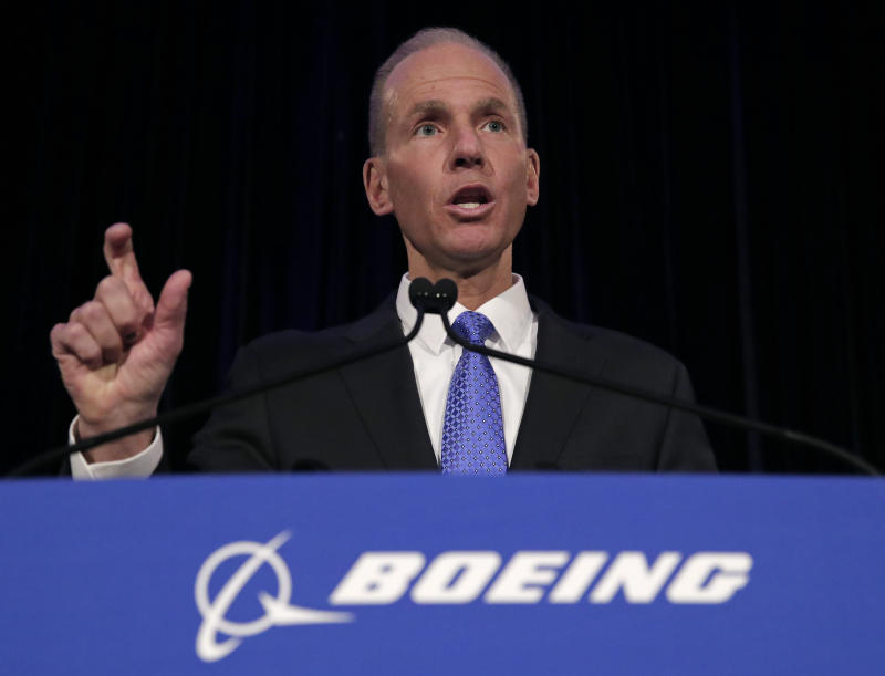 Boeing CEO