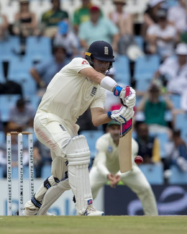 Rory Burns made 84 in the second innings of the first Test