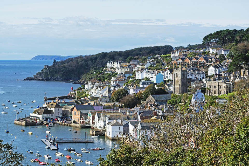 the coastal village of town in cornwall, england, britain, uk. (Photo by: Kevin Britland/Education Images/Universal Images Group via Getty Images)