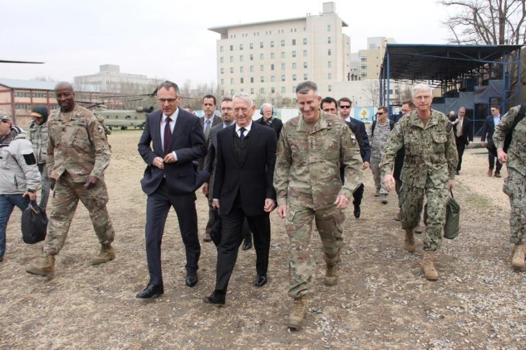 US Defense Secretary Jim Mattis's surprise Afghan visit is his third as Pentagon chief