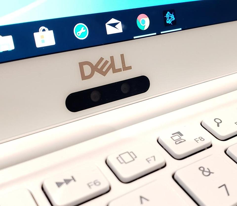 Unfortunately, the XPS 13's camera still looks straight up your nostrils.