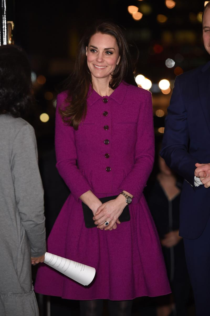 Kate middleton wears oscar de la renta for the first time the duchess of cambridge ombrellifo Image collections