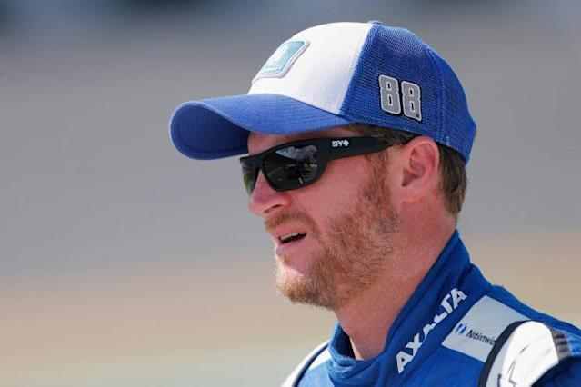 Dale Earnhardt Jr. will start first for his likely final Cup start at Daytona. (Getty)