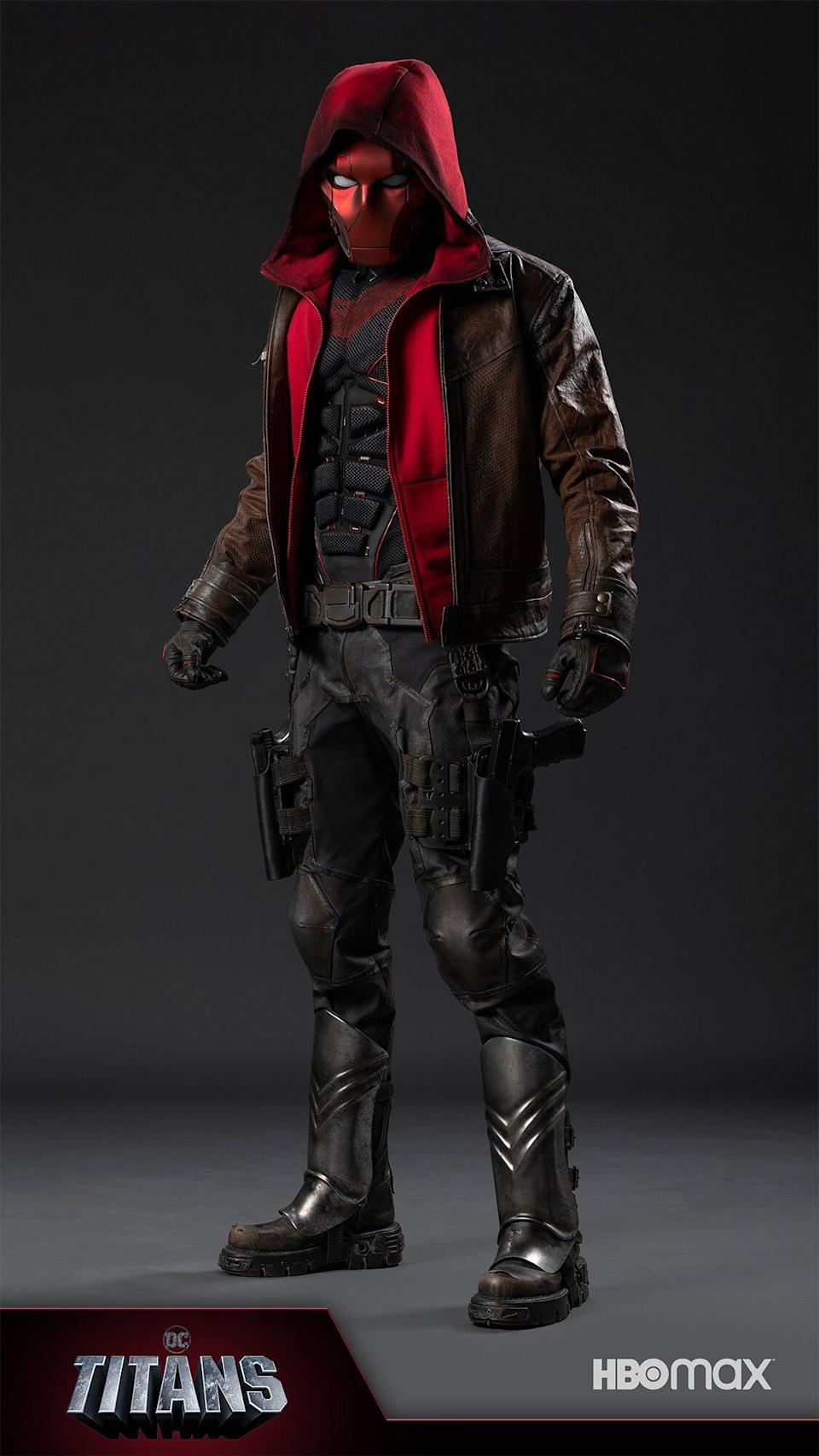 Titans reveals first look at Jason Todd's Red Hood suit in season 3